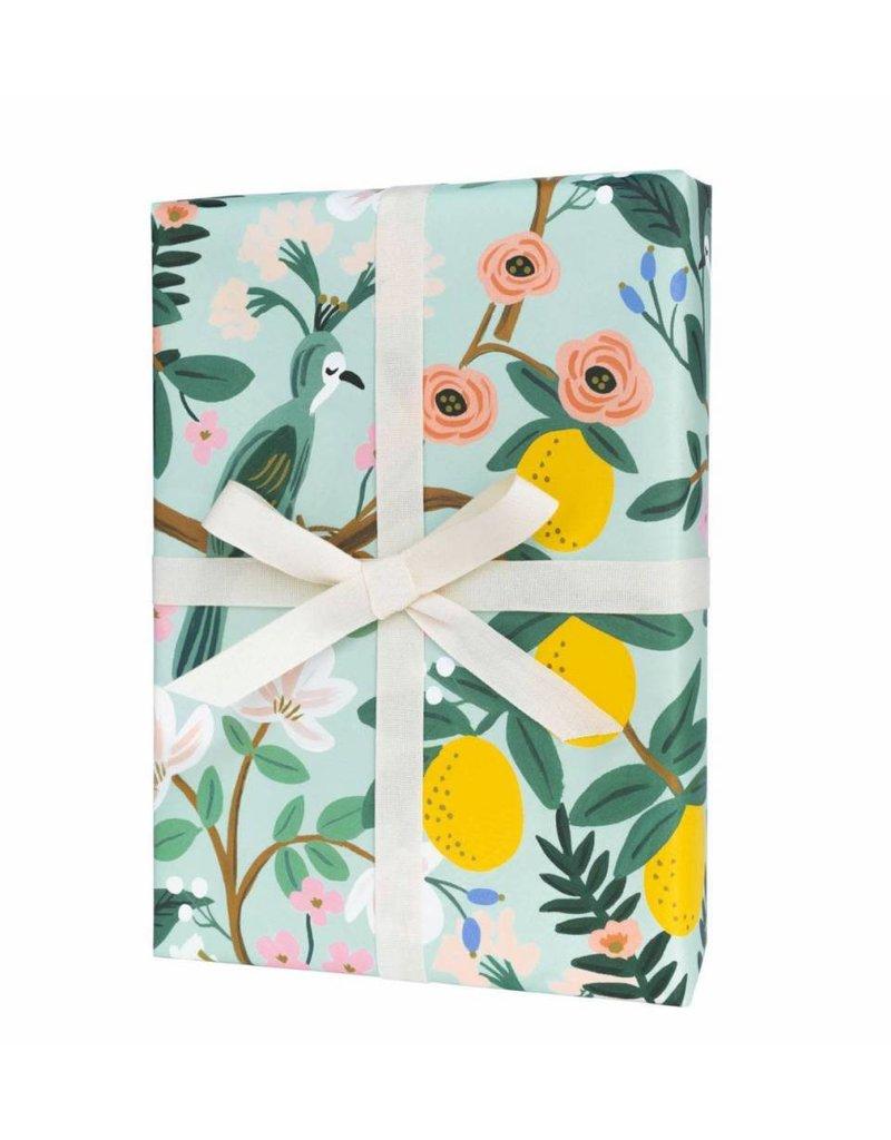 Rifle Paper Single Shanghai Garden Wrapping Sheet