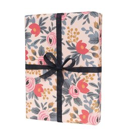 Rifle Paper Single Blushing Rosa Wrapping Sheets
