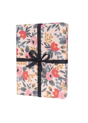 Single Blushing Rosa Wrapping Sheets