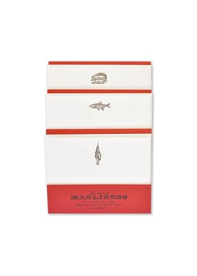 Page Stationery Catch, Trout, Bass Stationery Set