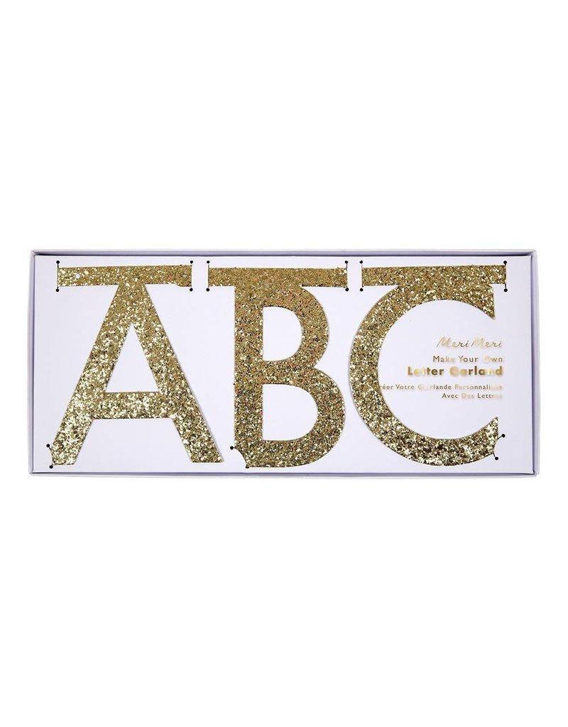 Glitter Garland Letter Kit