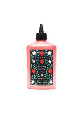 Finchberry Shimmer Body Wash-Cranberry Chutney