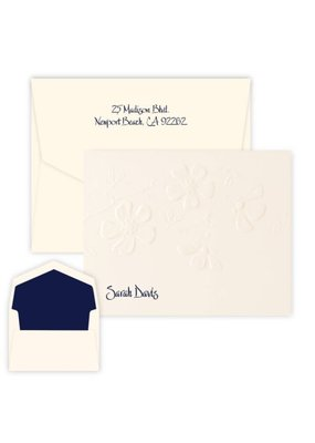 Embossed Graphics Blossom Note