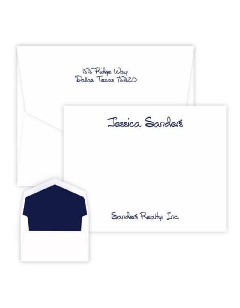 Embossed Graphics Anthony Studio Card