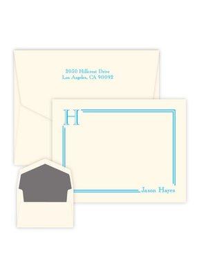 Embossed Graphics South Hampton Initial Card