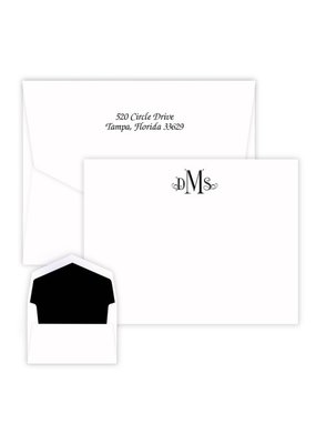 Wheaton Monogram Card