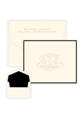 Shield Note-Embossed