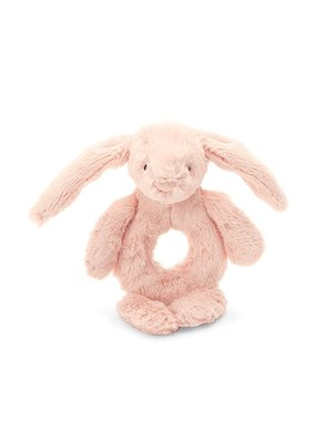Jellycat Bashful Light Pink Bunny Ring Rattle