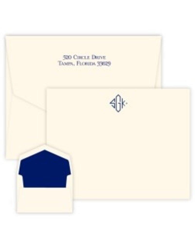 Delavan Monogram Apex Card