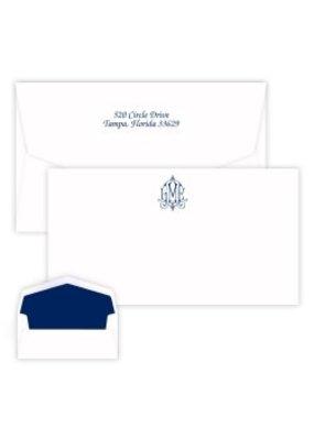 Delavan Monogram Chesapeake Card