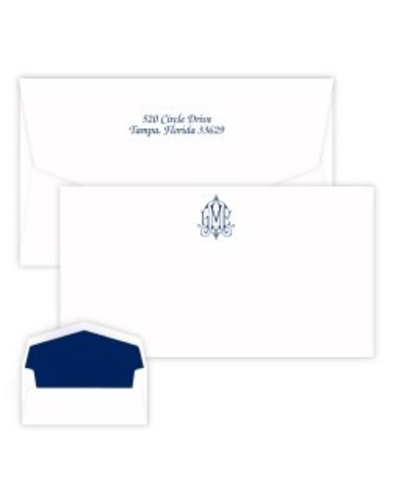 Delavan Monogram Chesapeake Card