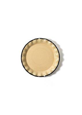 Coton Colors Midcentury Mix 13 Ruffle Round Platter- Cobble