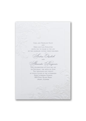 Antique Elegance Invitation
