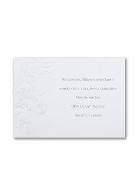 Antique Elegance Reception Card