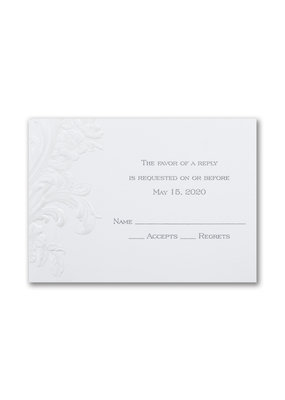 Antique Elegance Response Card