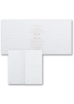 Antique Flourish Invitations