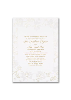 Delicate Blossoms Invitation