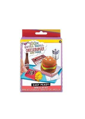 Fashion Angels 100% Extra Small Burger & Fries Mini Clay Kit