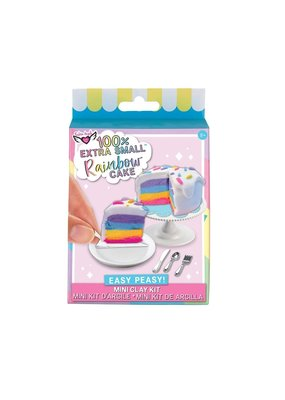 100% Extra Small Rainbow Cake Mini Clay Kit