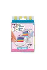 100% Extra Small Rainbow Cake Mini Clay Kit
