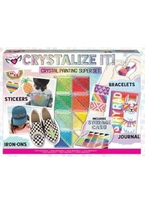 Fashion Angels CRYSTALIZE IT! Crystal Painting Super Set