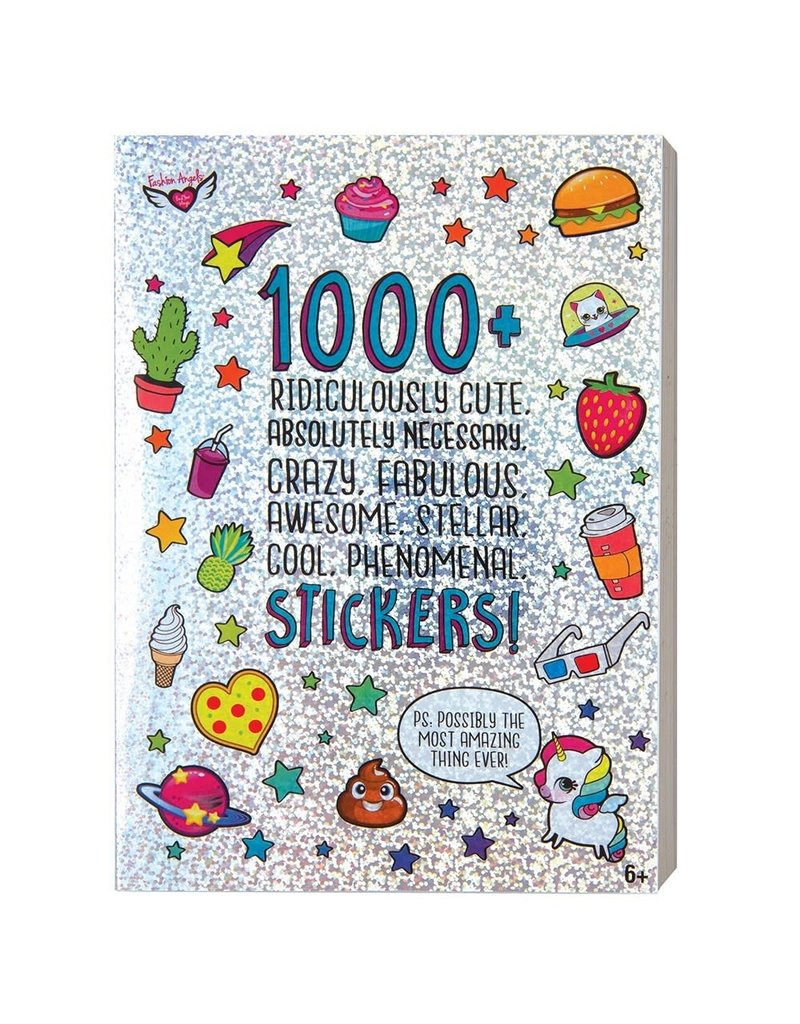 1000+ RIDICULOUSLY CUTE STICKERS BOOK