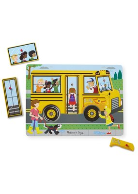 The Wheels On the Bus Song Puzzle