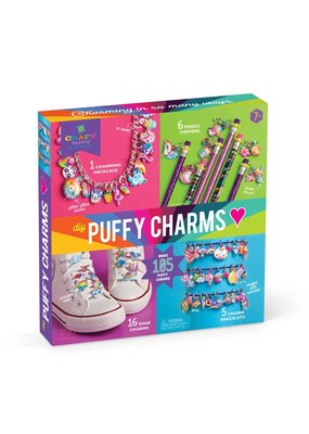 Ann Williams Group Craft-tastic I Love Puffy Charms DIY