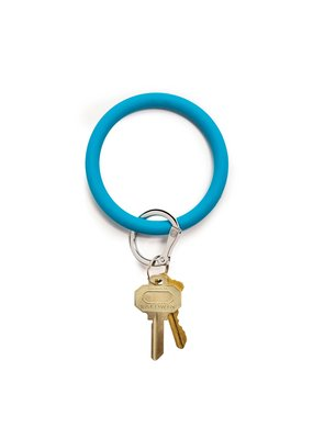 Peacock Big O Key Ring