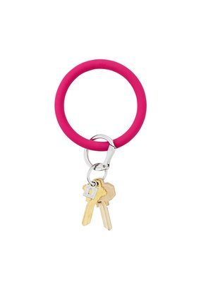 I Scream Pink Big O Key Ring