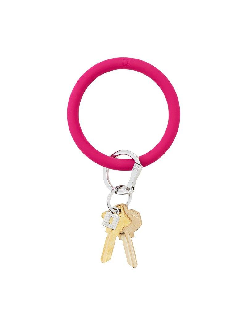 I Scream Pink Big O Key Ring