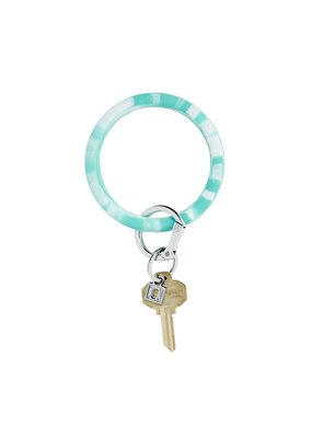 Oventure In the Pool Marble Big O Key Ring