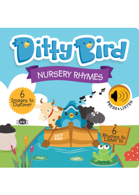 Ditty BIrd Nursery Rhymes Book
