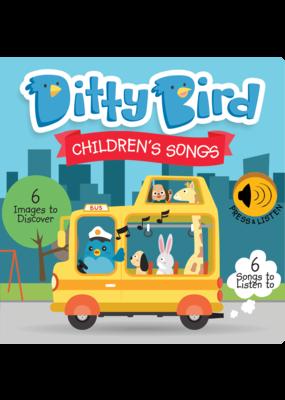 Ditty Bird Children's Songs Book