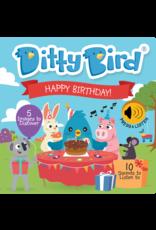Ditty Bird Happy Birthday Book