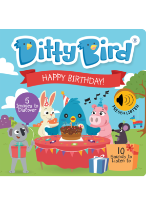 Ditty Bird Ditty Bird Happy Birthday Book