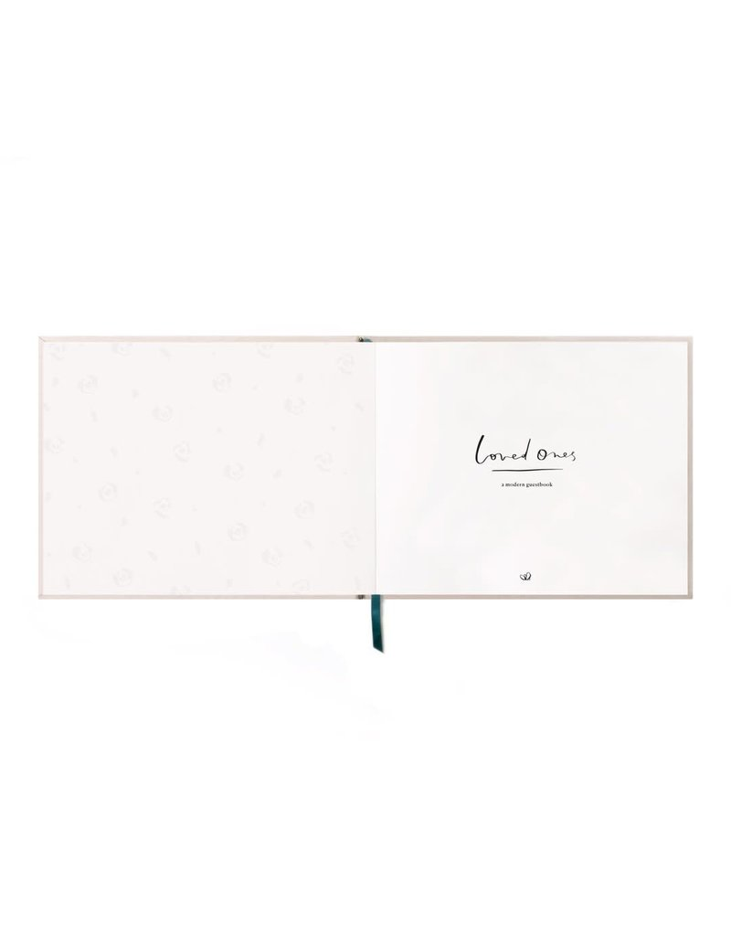Loved Ones Guestbook-Sand
