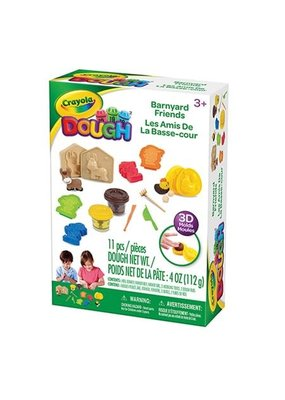 CRAYOLA DOUGH FARM PLAYSET 6