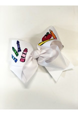 Two Sisters Bows ABC Large Bow