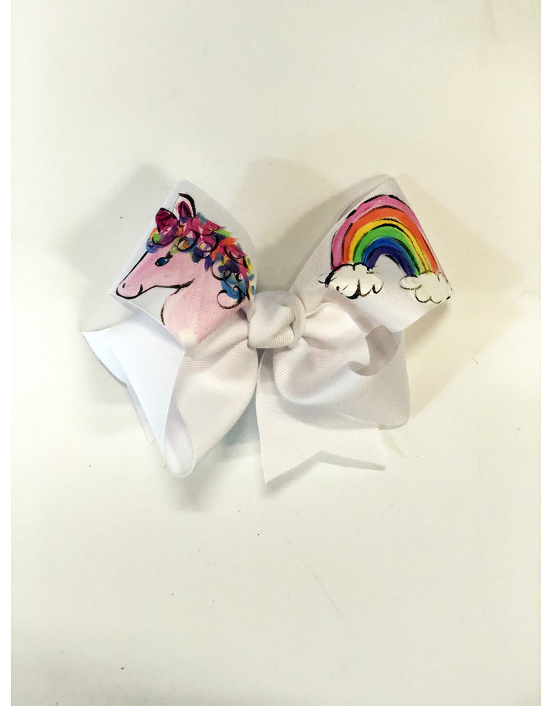 Magical Unicorn Large Bow