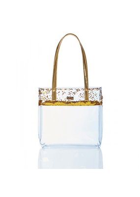 Packed Party Confetti Tote Stadium Gold