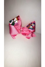 Pink Unicorn XLarge Bow