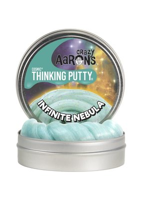 Crazy Aaron's Putty World Infinite Nebula Cosmic 4'' Tin plus Glow Charger