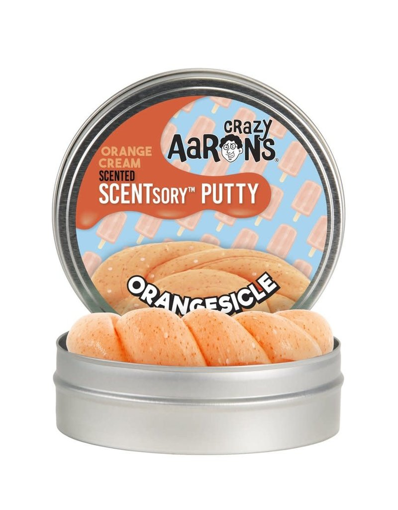 Crazy Aaron's Putty World Scented Orangesicle