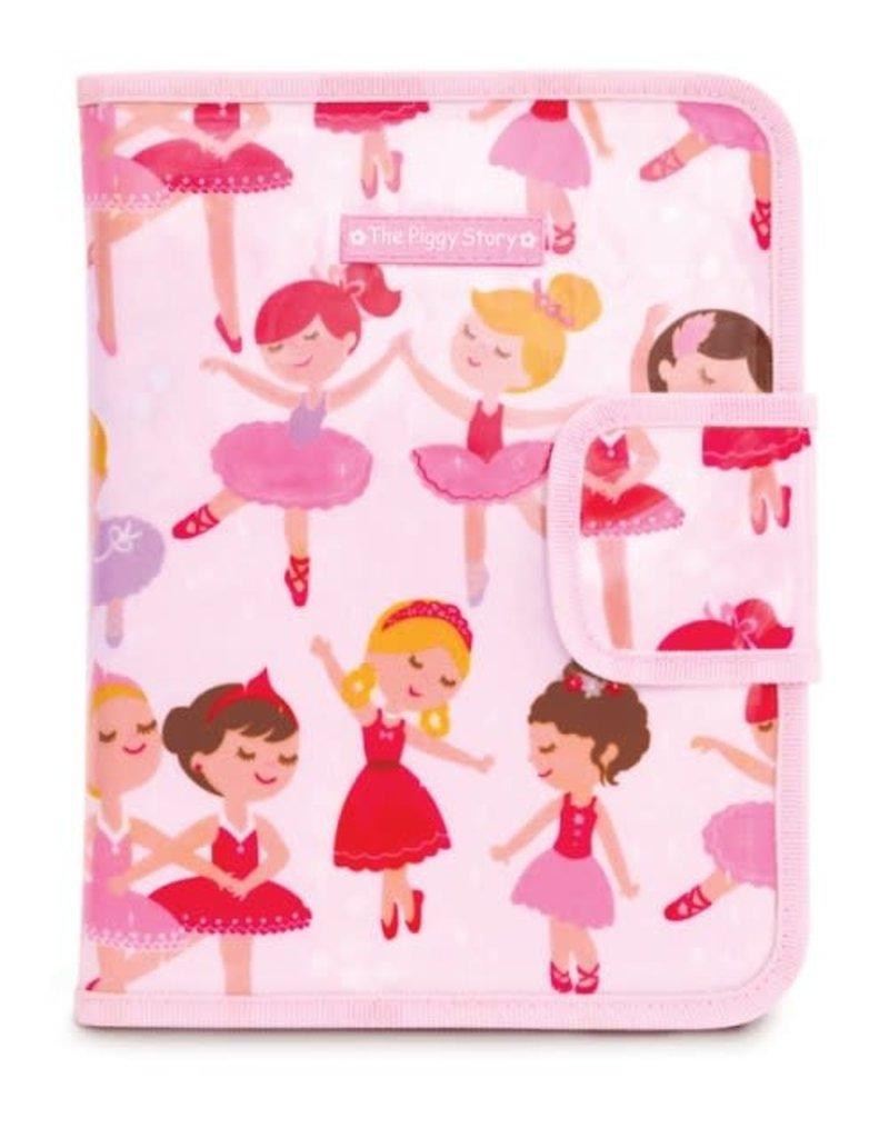 The Piggy Story Chalk N Marker Art Case - Pretty Ballerinas