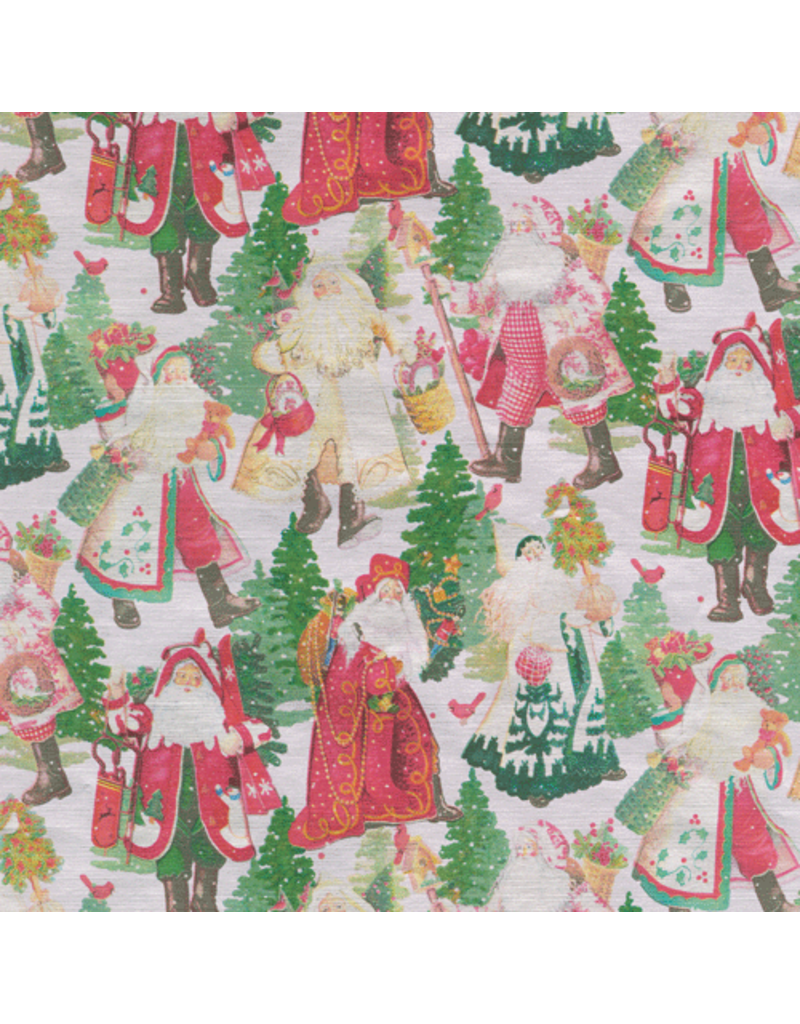 Santa's Snowflake Continuous Roll