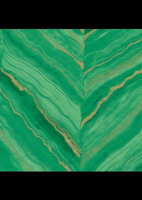 Caspari Marble Green Continuous Roll