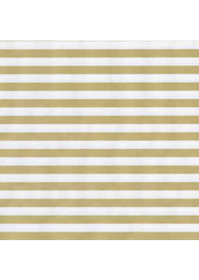Caspari Gold Stripe/Silver Reversible Continuous Roll
