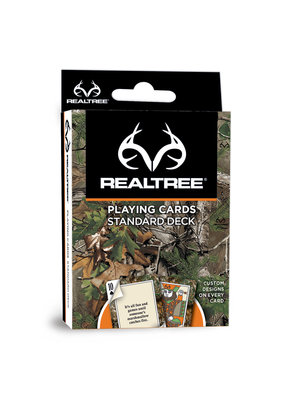 MasterPieces RealTree Playing Cards