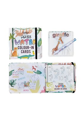 Floss & Rock Jungle Water Pen and Cards